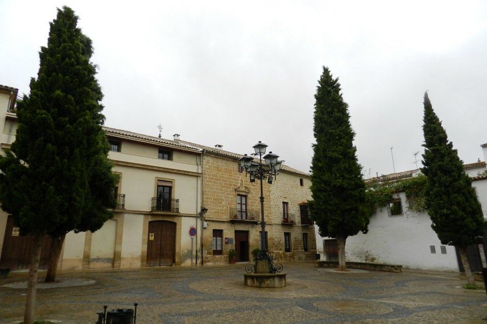 Plaza de Santa Clara Ubeda Jaen 01