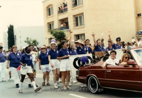 San Diego LGBT Pride Parade, July 1999: San Diego Women's Chorus Contingent