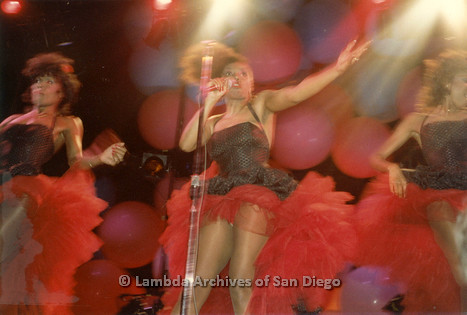 1982 - 'Summer Heat' at the Sports Arena in Point Loma: Variety Show Disco Music Performers.