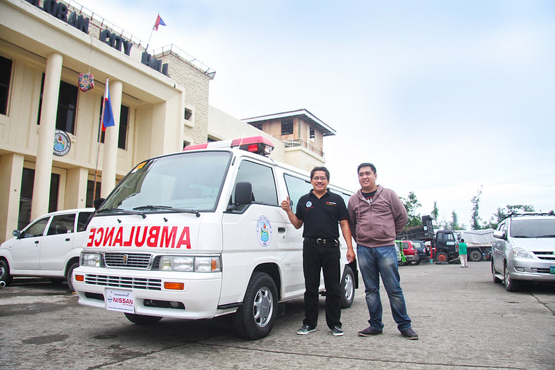 Tacloban City Vehicle Donations