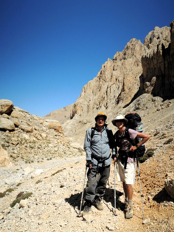 This man, Mustafa (?), summited Demirkazık, and he has one bad leg; quite an accomplishment by bryandkeith on flickr