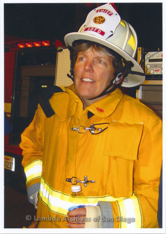P233.006m.r.t Portraits for LASD City Hall Exhibit: San Diego Fire Rescue Department Chief Tracy Jarman