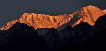 Mt. Kabru at sunrise