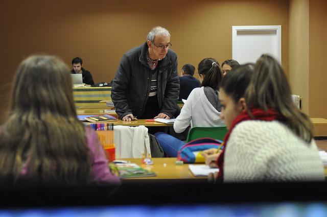 Día de estudio con los jóvenes