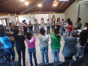 Curso Preparando para o Futuro oferecido pelo Programa Clorofila para estudantes de Bertioga, formando novos agentes ambientais. / 2015