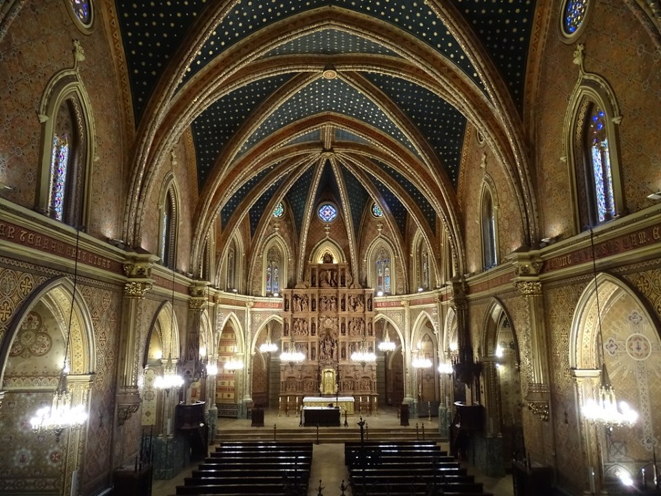 Teruel altar mayor y retablo Iglesia San Pedro 01