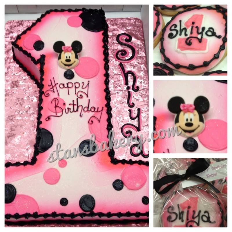 Minnie Mouse First Birthday Cake Collection Minnie Mouse C Flickr