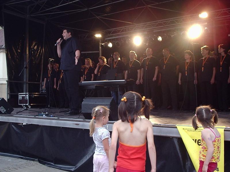 Abensterne Marktplatzfest 2004 001