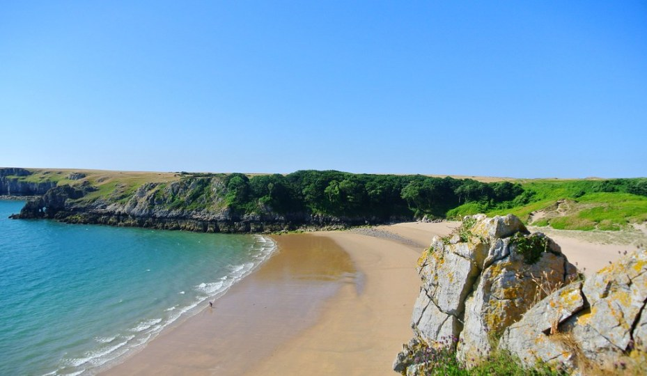 Barafundle Bay & the Stackpole Estate