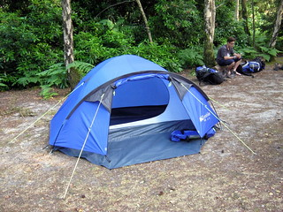 Our 2 man tent for the South Downs