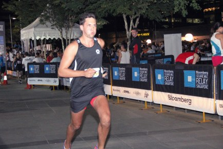Bloomberg Square Mile Relay Singapore 2013