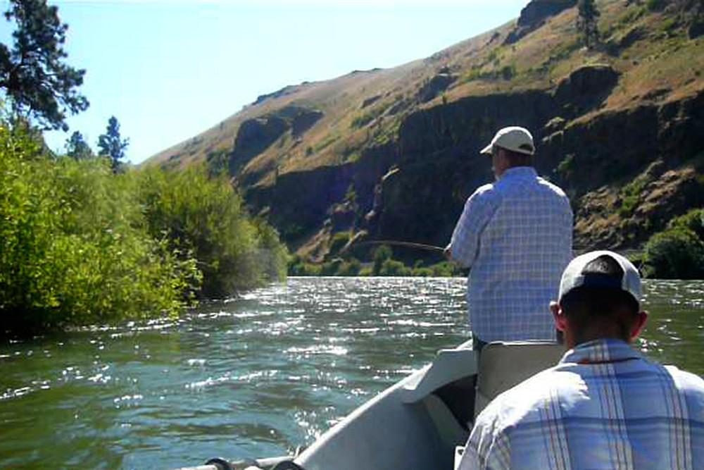 Yakima River Fishing Map