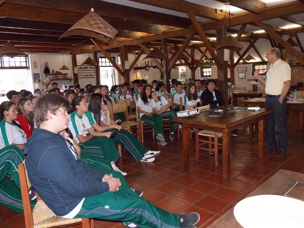 Visita PUCPR e Sesi no Parque Histórico de Carambeí