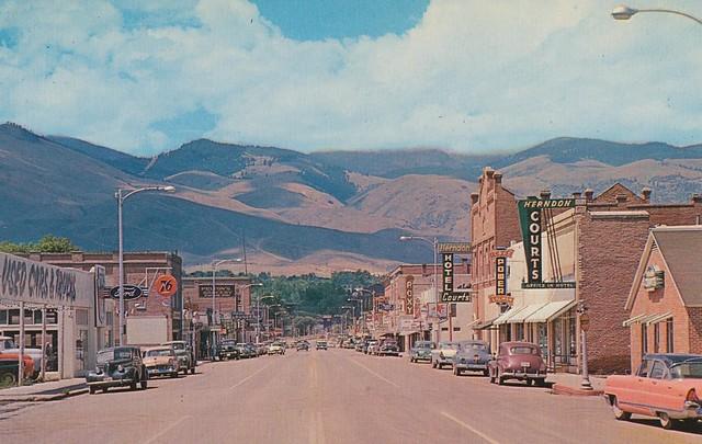 Main Street - Salmon, Idaho