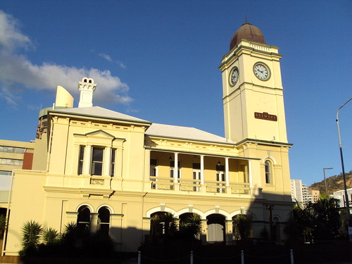 Former main Post Office in Townsville Queensland. Now a brewery and hotel.