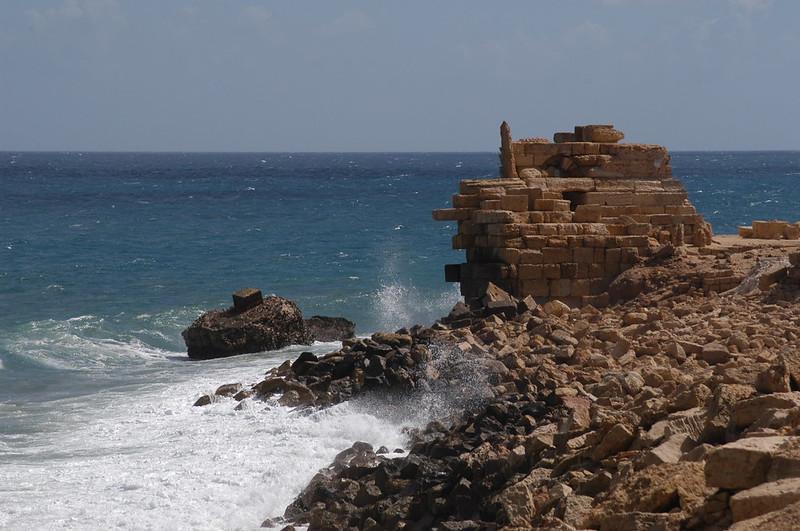 Il porto romano di Leptis Magna, Libia / The threatened roman harbor of Leptis Magna, Libya