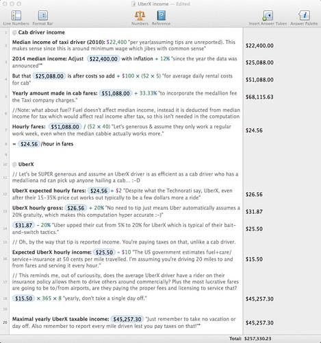 Uberx Soulver Income Worksheet