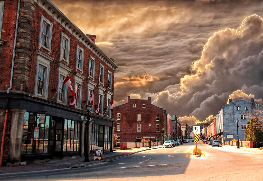 Port Hope Ontario Canada Downtown Historical Town Flickr