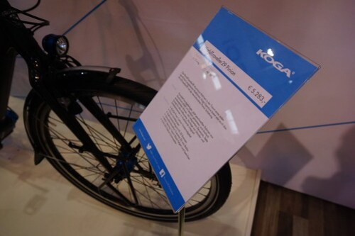 Eurobike 2014: Koga World Traveller Pinion spec sheet