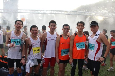 SAFRA Singapore Bay Run & Army Half Marathon 2014