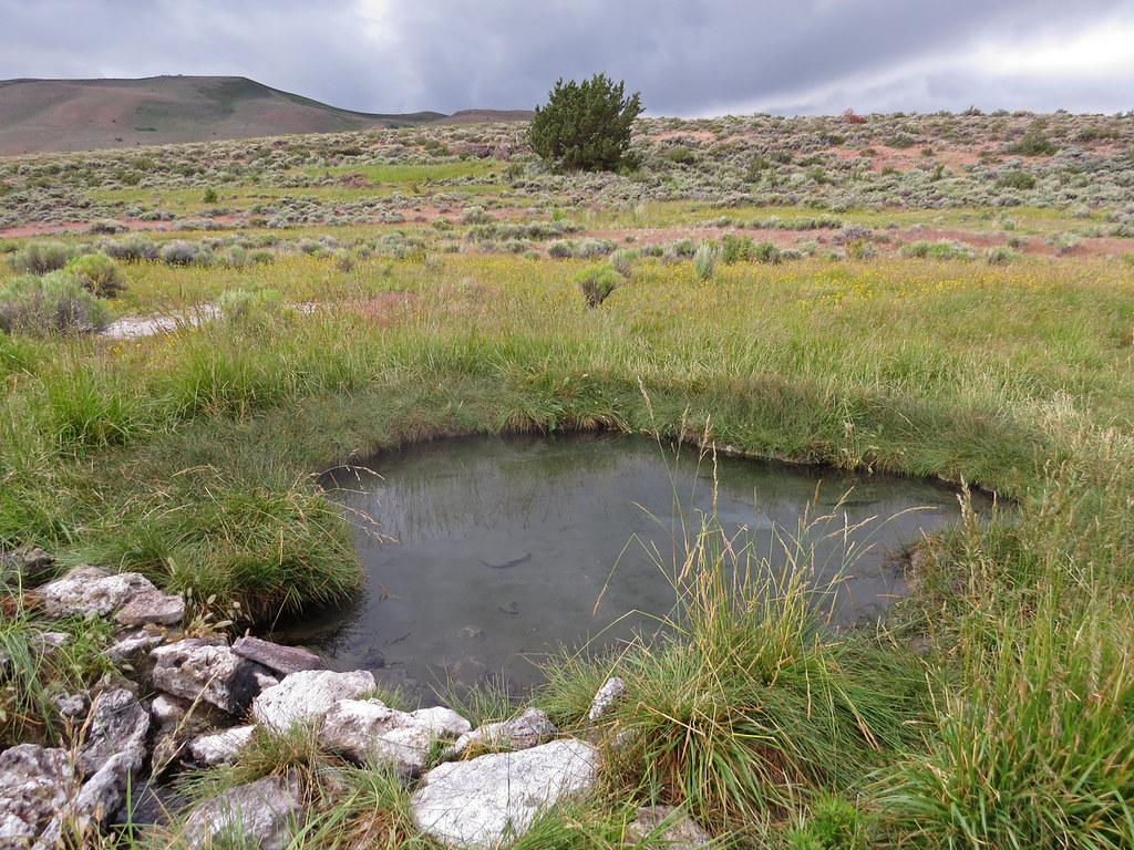 Hart Mountain Hot Spring - Primitive