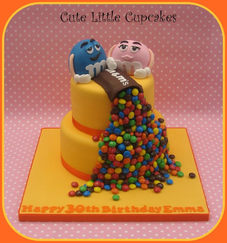 M M S Birthday Cake Heidi Stone Flickr