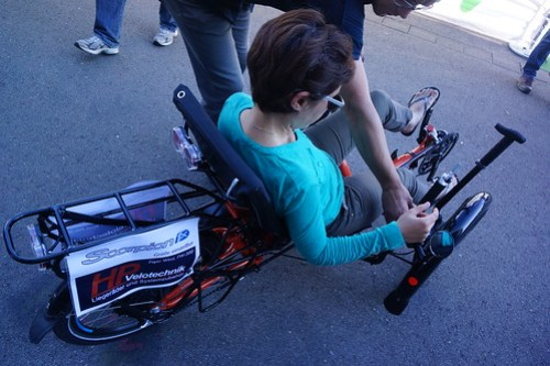 Eurobike 2014: e-trike test ride