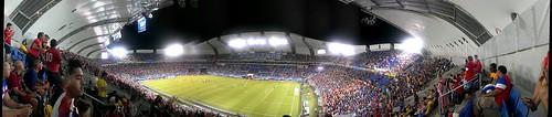 270 view of Arena das Dumas for Ghana versus USA