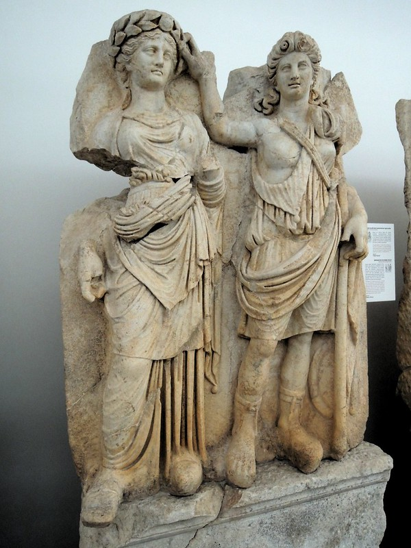 There was a whole wing in the museum dedicated to pieces like this from the Sebasteion by bryandkeith on flickr