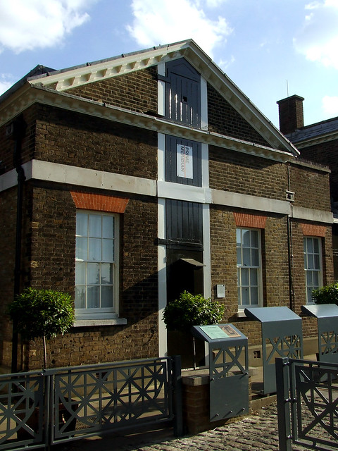 Greenwich Meridian at the Royal Observatory