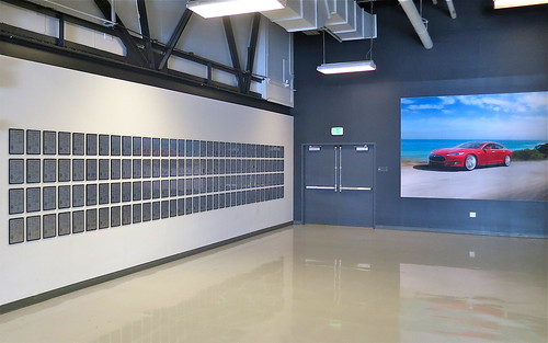 The Tesla Patent Wall at HQ, now set free
