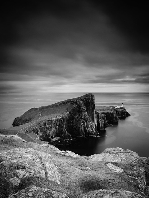Neist Point II, Skye (Mono)