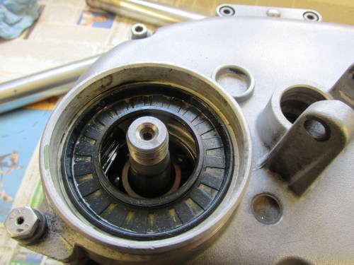 Output Shaft and Seal Are Exposed