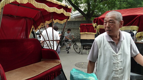 Beijing rickshaws