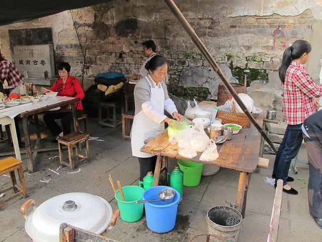 Old part of Lanxi
