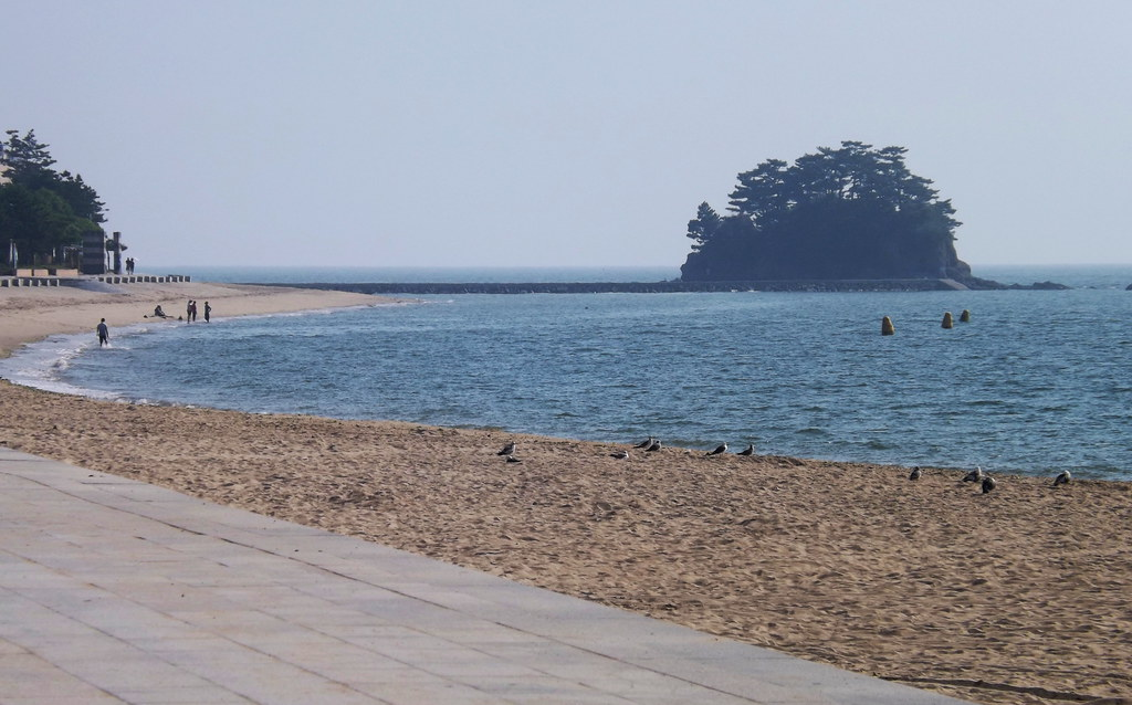 무창포해수욕장 Muchangpo Beach, South Korea
