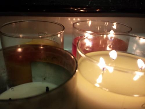 307/365 [2014] - Candles Burning