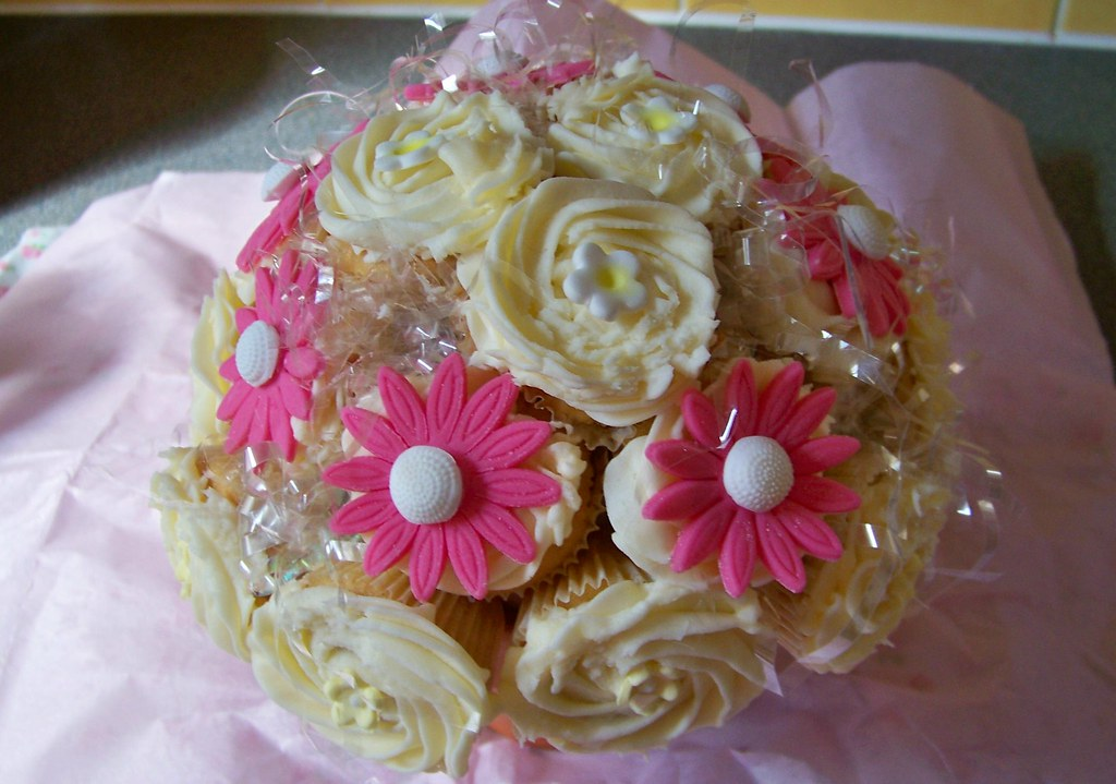 My First Cupcake Bouquet. Made