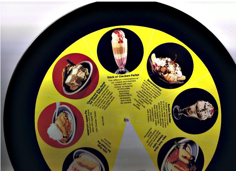 Checkers Dessert Menu on Vinyl 3