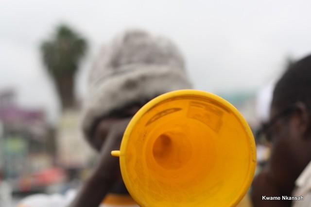 Vuvuzela: Up close and personal