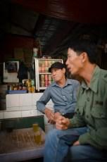 Men Having a Chat
