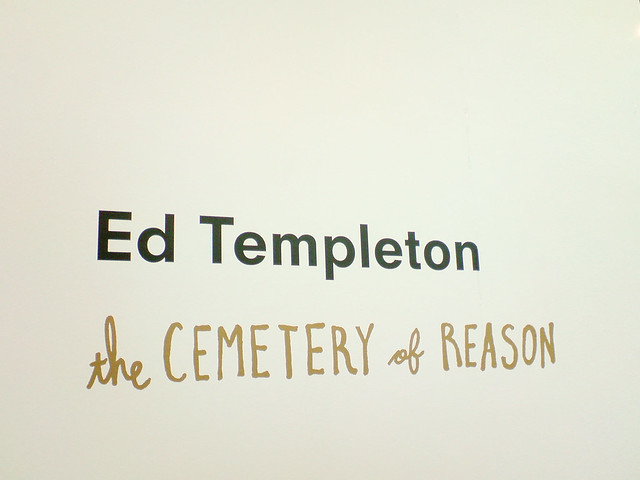 """Ed Templeton """"the cemetary of reason"""""""