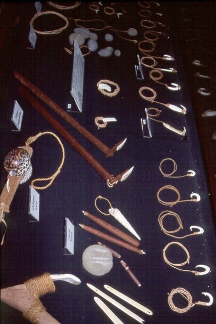 Replicas of Ancient Chamorro Tools, 1996
