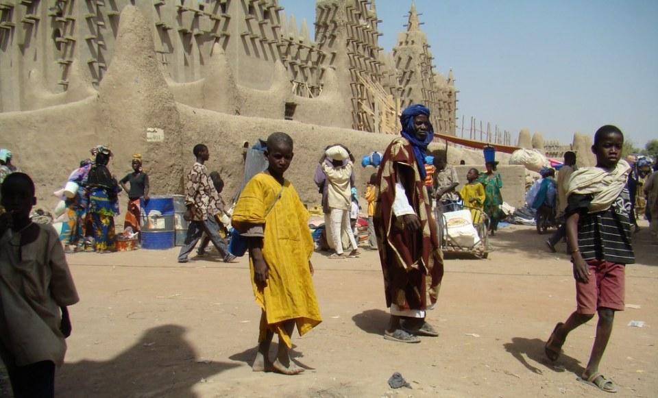 su gente Gran Mezquita de Djenne Mali 34