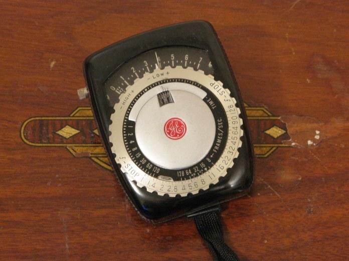 GE PR-1 exposure meter