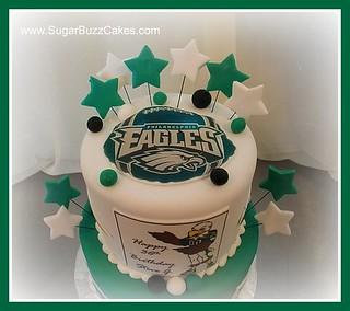 Philadelphia Eagles Football Cake Carol Flickr