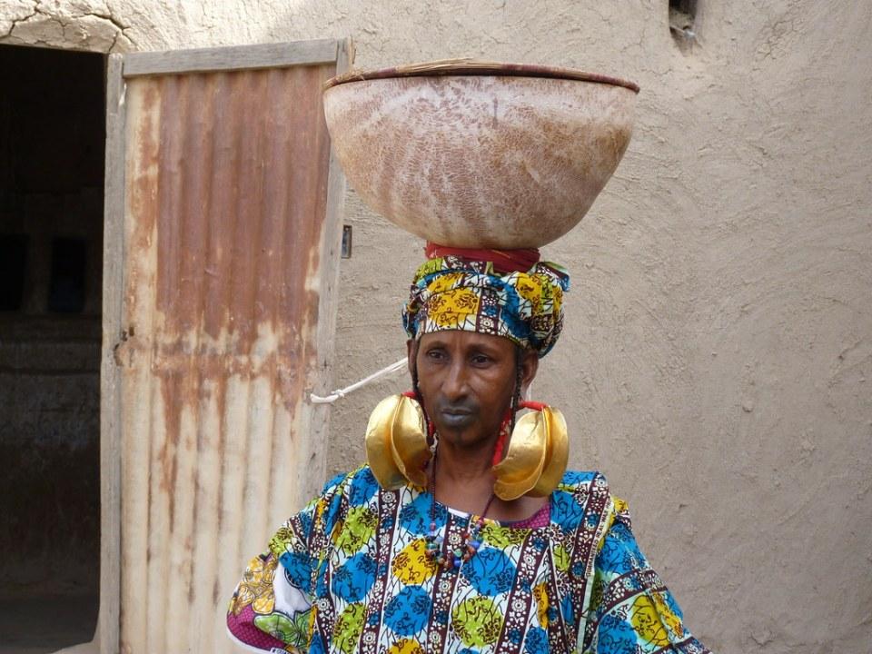 Mali Mopti etnia Peul en barrio antiguo de Taikiri 20