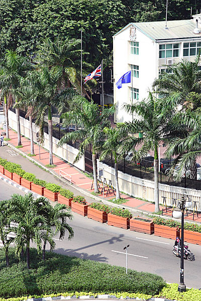The British Embassy Jakarta Uk In Indonesia Flickr