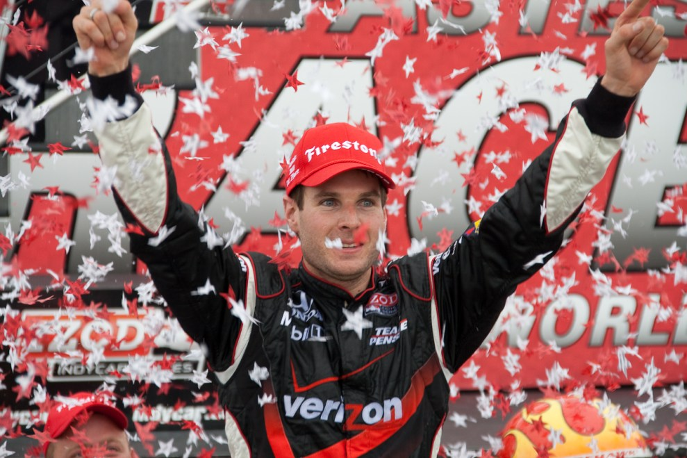 Will Power, winner of the 2010 Honda Indy Toronto, by Paul Henman