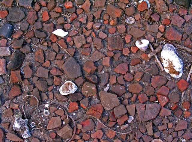 Gokña Covered with Pottery Sherds